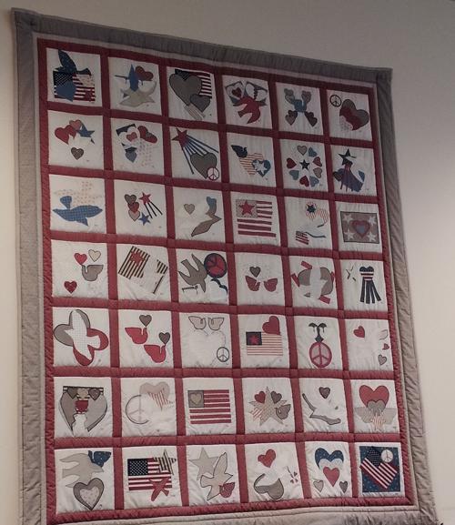 Unexplained quilt